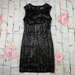 Forever 21 sequin sleeveless sheath mini dress A23